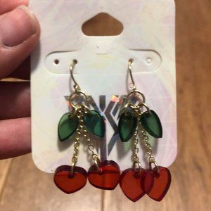 Katy Perry Prism Collection Cherry Dangle Earrings